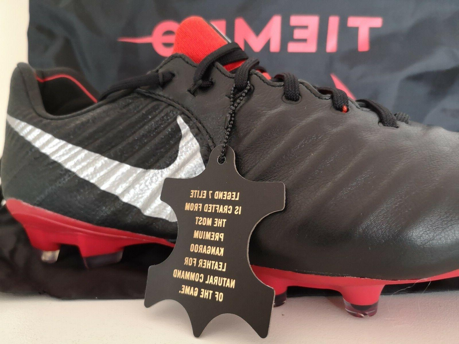 Nike Tiempo 7 Red AH7238-006 Soccer w/