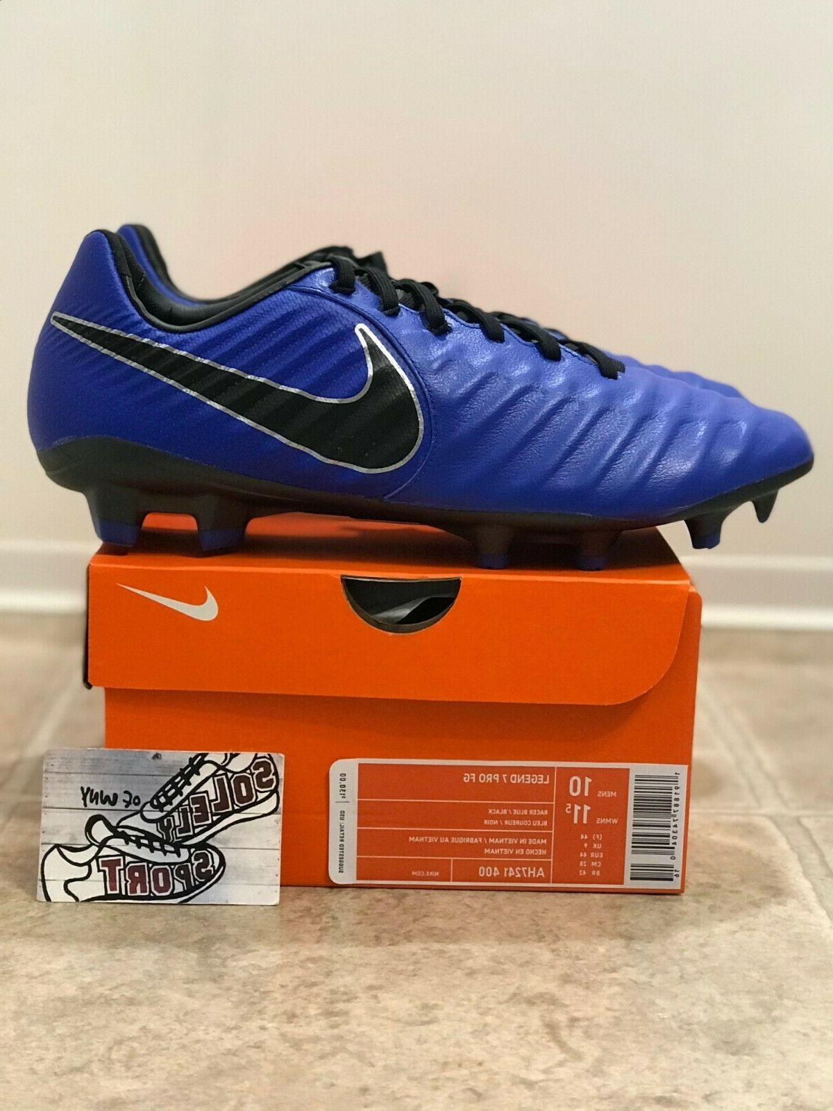 VII Elite Soccer AH7241 400 Blue Black