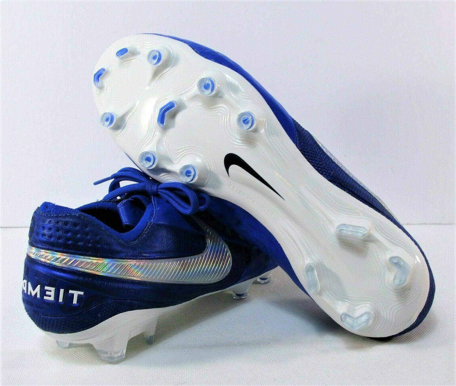 ELITE SOCCER CLEATS SIZE 12 BLUE AT5293-414