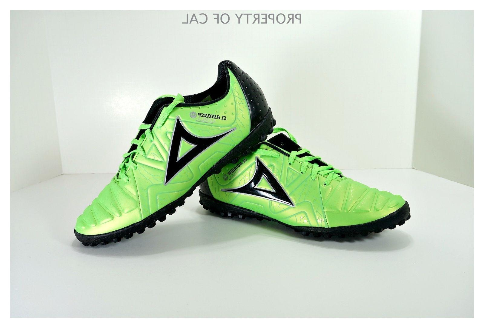 turf soccer cleats style 189 green black