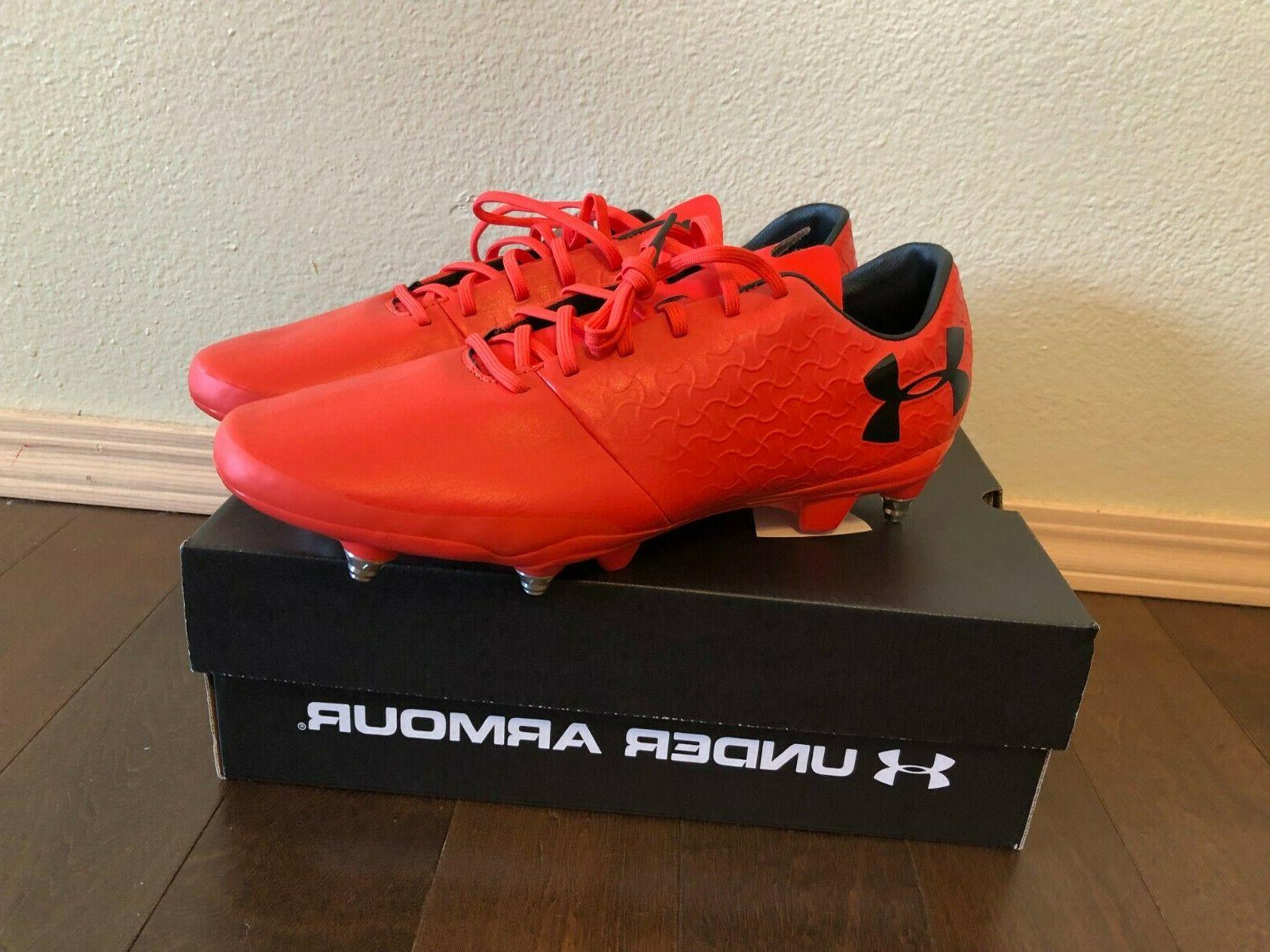 ua magnetico select fg soccer cleats size