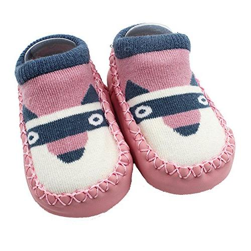 vekdone toddler kids cute thick warm non