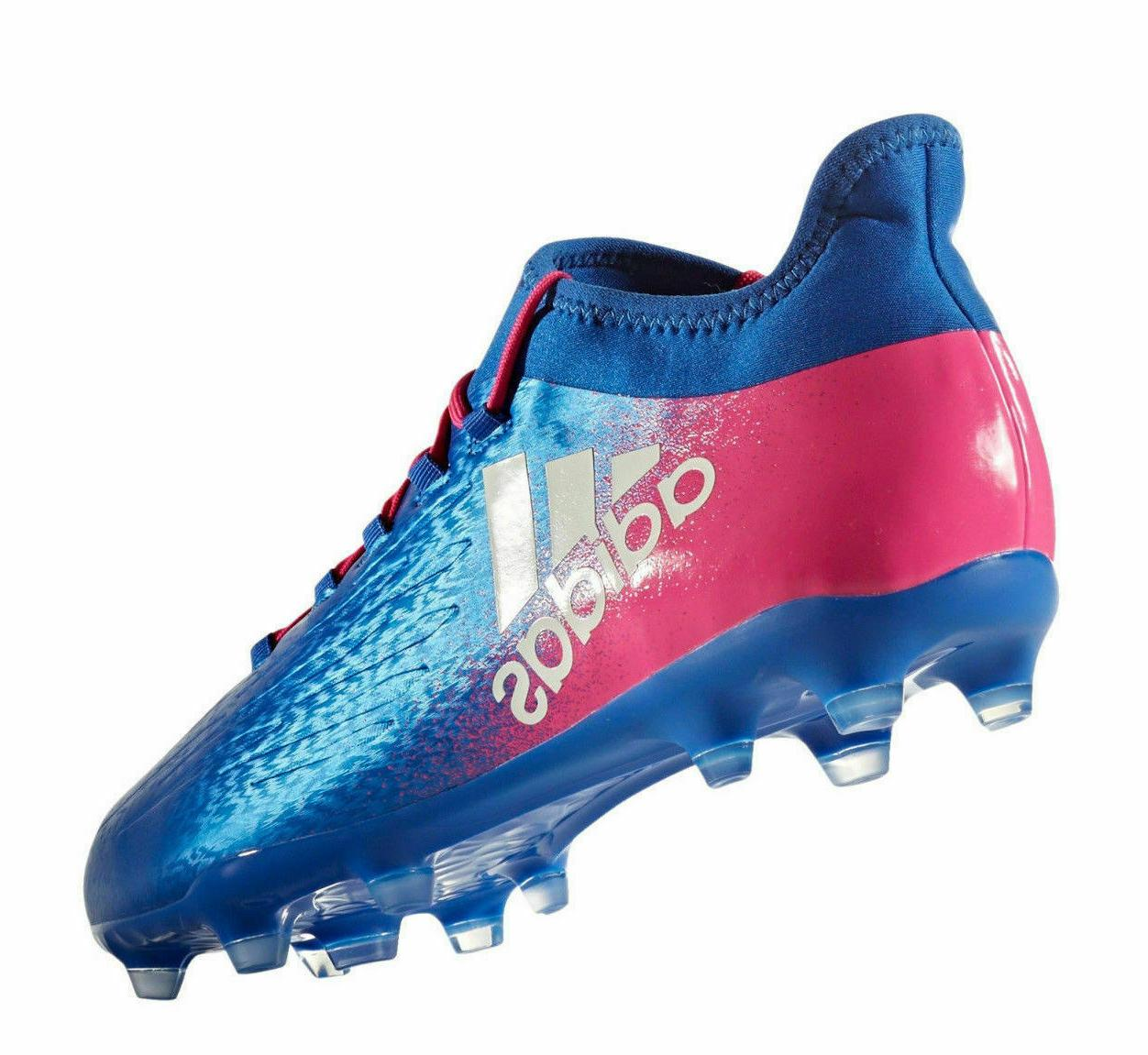 adidas Soccer Cleats Suarez - Blue/White/Pink - - Size: