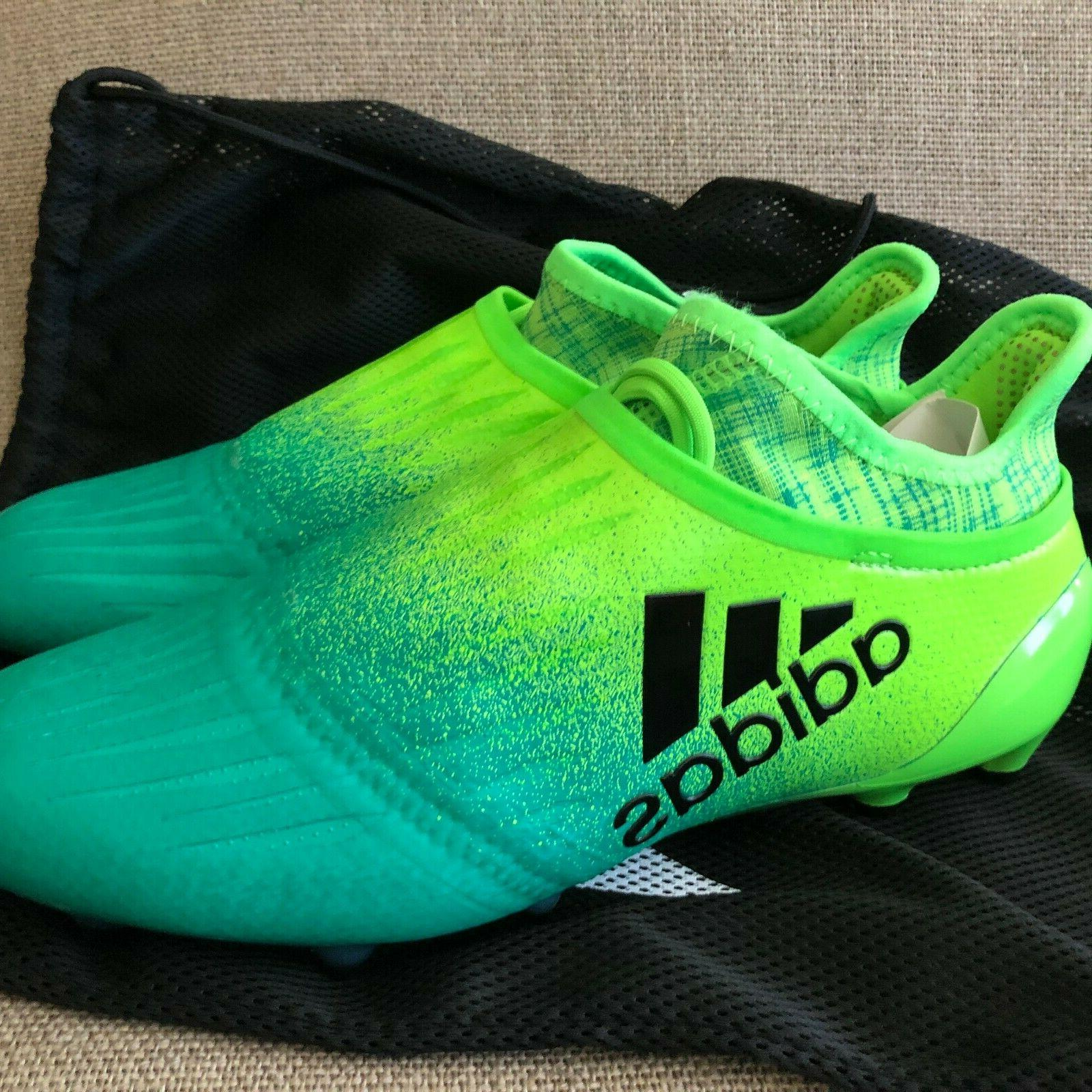 Adidas FG SIZE 8 Soccer Cleats Green BB1075