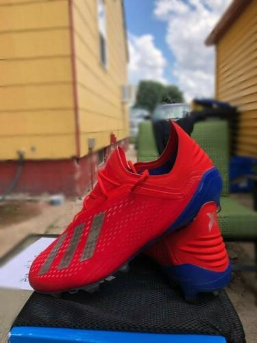 Adidas X 18.1 SIZE 10 Cleats Blue MSRP