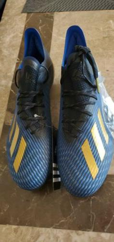 Adidas X19.1 SG F35310 Soccer Cleats BRAND NEW $110 SIZE 11.