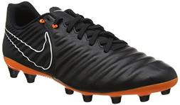 Nike Legend 7 Academy FG Soccer Cleats-Black Orange Size: 12