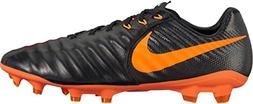 Nike Legend 7 Pro FG Men Soccer Cleats-Black Orange Size: 7