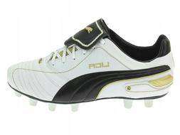 Puma Liga Finale i FG White/Gold Soccer Cleats  Men's Size 9
