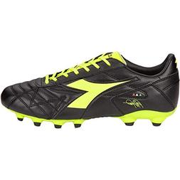 Diadora Men's M. Winner RB K-Plus MG14 Soccer Cleats, Black