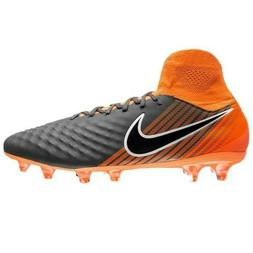 Nike Magista Obra II 2 Pro DF FG Soccer Cleats Gray Orange S