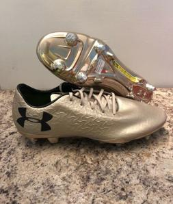 Under Armour Magnetic PRO FG Soccer Cleats Metallic Gold Men