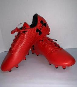 Under Armour Magnetico Select FG Soccer Cleats Size 9 Red 30