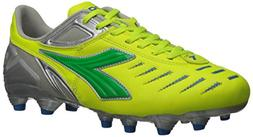 Diadora Women's Maracana L Soccer Cleat Shoes, Yellow Flou/L