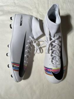 MEN Nike Mercurial Superfly 6 Club FG MG Soccer Cleats White