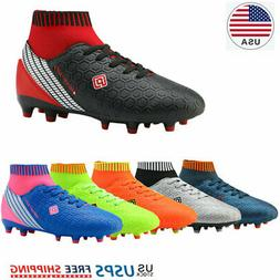 DREAM PAIRS Boys Soccer Shoes Kids Outdoor Sport Football So