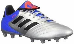 adidas Men's Copa 18.3 Firm Ground Soccer Shoe, Silver Metal