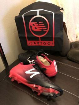 New Balance Men's Furon 4.0 Pro Fg Soccer Cleat Shoes Red &