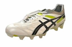 Asics Men's Lethal Tiggreor 4 IT Soccer Cleats White Black