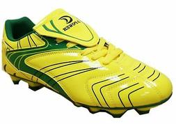 D Power Men's Soccer Cleats 7 Yellow/Green