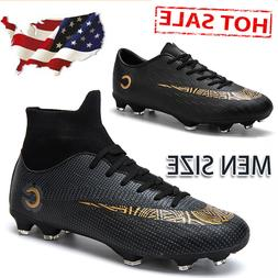 Men's Soccer Boots Outdoor Football Sneaker Soccer Cleats At