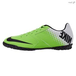 Mens Nike Bomba TF Electric Green Indoor Turf Soccer Cleats