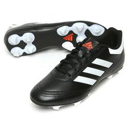 Mens Adidas Goletto 6 Firm Ground Soccer Cleats Black/White