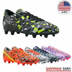 DREAM PAIRS Soccer Shoes JR Kids Boys Girls Outdoor Sport Fo