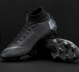 Mens Nike Mercurial Superfly 6 Pro FGBlack Soccer Cleats