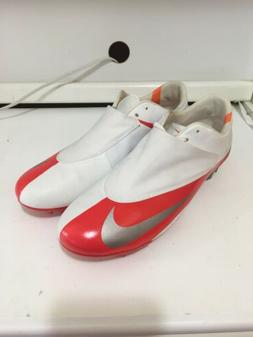 Nike Mens Rare Mercurial Vapor FG White Red Soccer Cleats Si