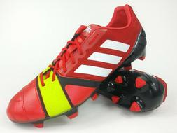 Adidas Mens Rare nitrocharge 1.0 TRX FG Q33666 Red White Soc