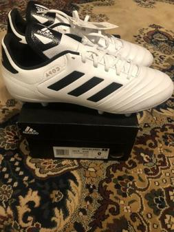 Adidas,Men's Soccer Cleats,Copa 18.3 FG,BB6358,white/black