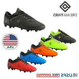 DREAM PAIRS Mens Soccer Shoes Sport Athletic Outdoor Footbal
