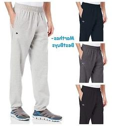 Champion Mens Sweat-pants Closed Bottom Light Weight Jersey