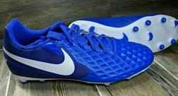 Mens Nike Tiempo Legend 8 FG Soccer Cleats Blue AT6107-414