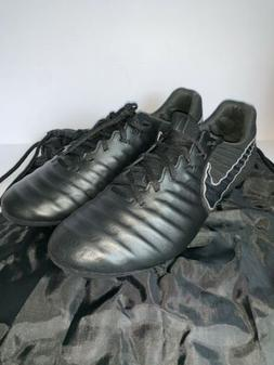 Men's Nike Tiempo Legend VII 7 Elite FG Soccer Cleats Blac
