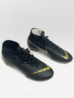 mercurial superfly 6 elite fg black gold