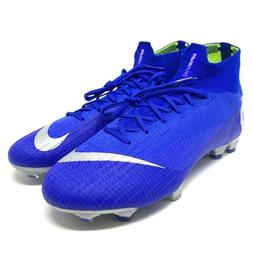 Nike Mercurial Superfly 6 Elite FG Blue Soccer Cleats Men'