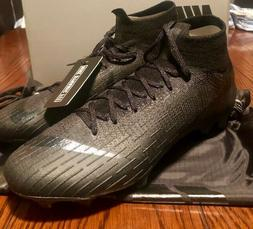 Nike Mercurial Superfly 6 Elite FG Soccer Cleats Boots Black