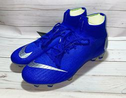 Nike Mercurial Superfly 6 Elite FG Soccer Cleats Boots Blue