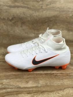 Nike Mercurial Superfly 6 Pro FG ACC Soccer Cleats White Ora