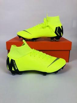 Nike Mercurial Superfly 6 Pro FG/MG Soccer Cleats Volt Black