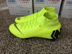Nike Mercurial Superfly 6 Pro FG Soccer Cleats Volt Black AH