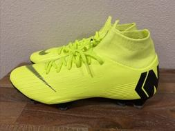 Nike Mercurial Superfly 6 Pro FG Soccer Cleats Volt AH7368-7