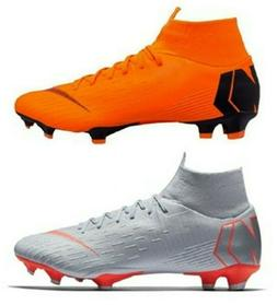 Nike Mercurial Superfly 6 Pro FG Soccer Cleats Shoes, Orange