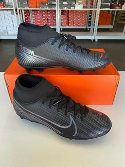 Nike Mercurial Superfly 7 Club FG/MG Soccer Cleats Black AT7