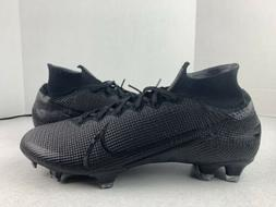 Nike Mercurial Superfly 7 Elite FG Soccer Cleats Black AQ417