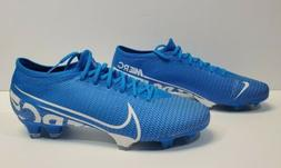 Nike Mercurial Vapor 13 Pro FG Soccer Cleats Blue AT7901-414