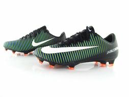 NIKE MERCURIAL VAPOR XI FG SOCCER CLEATS SIZE 7.5 BLACK/WHIT