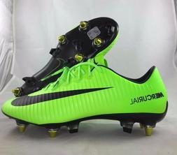Nike Mercurial Vapor XI SGPro AC Green Black Soccer Cleats 8